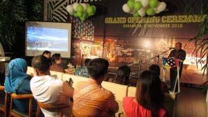 Suasana Grand Opening Maxone Hotel di Jalan Tidar Surabaya pada Sabtu malam (5/11/2016)