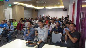 Suasana Kemeriahan Hari Ulang Tahun Hotel Pop Stasiun Kota Surabaya ke-1