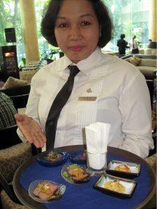 Hidangan Apetizer dari Hotel JW Marriot Surabaya saat acara Good France 2017