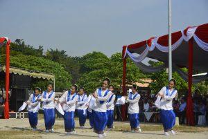 Tarian Lenso turut meriahkan acara peringatan Hari Pattimura ke 200 di Surabaya pada hari Minggu (21/5/2017) --- Foto : Istimewa