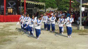 Penari Lenso pada peringatan Hari Pattimura ke 200 di Surabaya