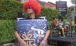 Music patrol Pemuda Muhammadiyah menyemarakkan buka puasa bersama di hotel Luminor Jemursari Surabaya