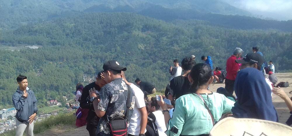 Salah satu spot keindahan alam di Taman Langit, Batu, Jawa Timur