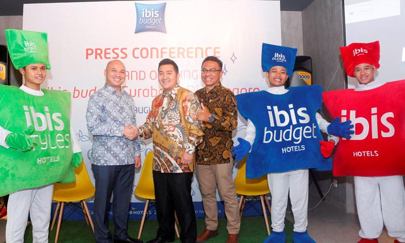 Konferensi Pers pembukaan ibis budget Surabaya, jalan Diponegoro