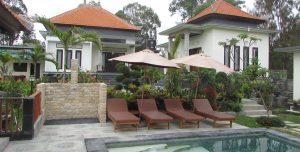 Villa Jempana, desa Sangon, Kintamani, Bali