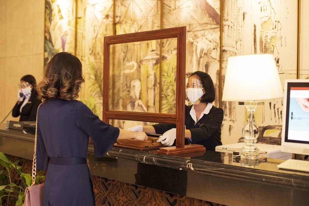 Java Paragon Hotel & Residences Surabaya menerapkan standard protokol kesehatan yang ketat