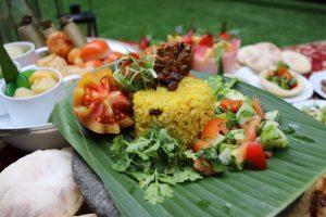 Nasi Kebuli dan Roasted Arabic Chicken dalam Sajian Taman Ramadhan GranDhika Iskandarsyah Jakarta